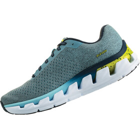 Hoka One One Elevon - Zapatillas running Mujer - gris/Azul petróleo